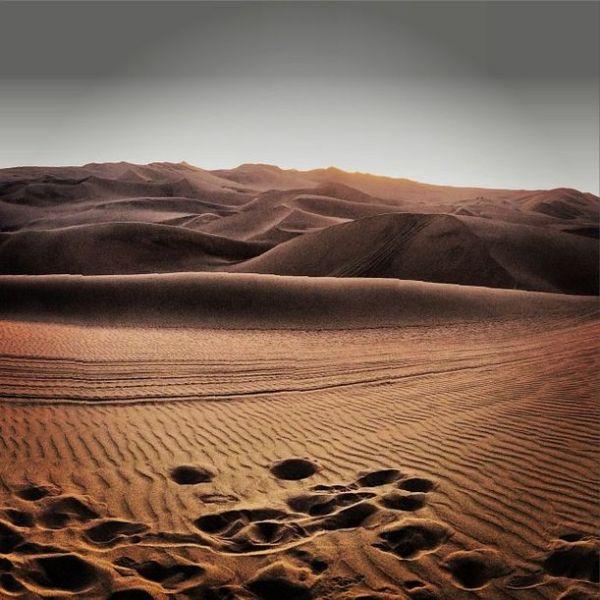 The dunes of Huacachina.