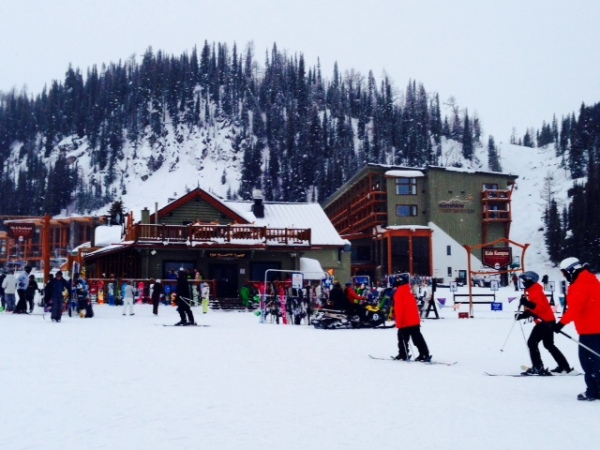 Sunshine Village Ski Resort.