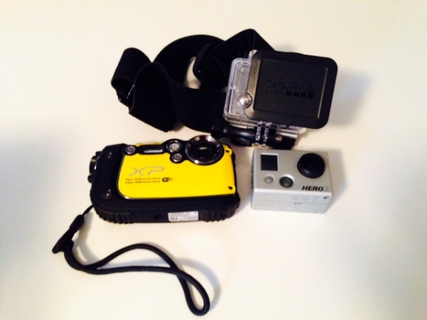 waterproof camera travel