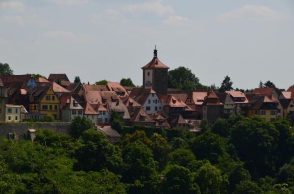 Rothenburg ob der Tauber. Courtesy of user tm-md on Creative Commons.
